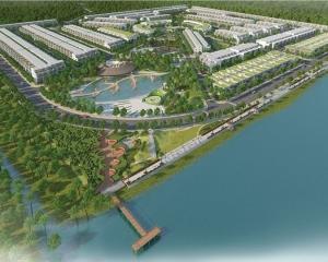 Hệ thống cáp ngầm, tủ phân phối, hố ga Khu biệt thư ven sông Tân Phú Thịnh